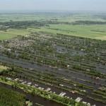 Luchtfoto trekgaten Loosdrecht